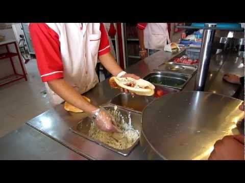 Fast Food in Iran | Persian Hamburger | Shiraz | Travel to Iran 2012 | Go Backpacking