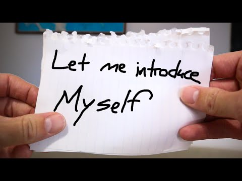 Hey! Let me introduce myself.