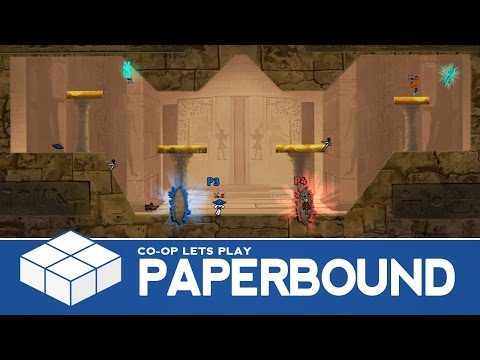 Paperbound | 4 Player Versus Gameplay