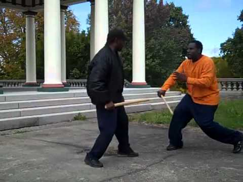 Modern Arnis, Kali, Eskrima  - Park  Lesson - Movement, Flow, Defense, Counter Image 1