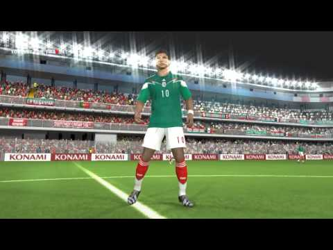 PES 2014   Mexico New Home Kits World Cup 2014 Brazil v2