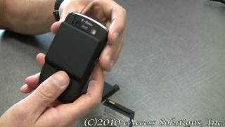 eAccess High Capacity Battery Kit for BlackBerry Curve 8900 Video Overview