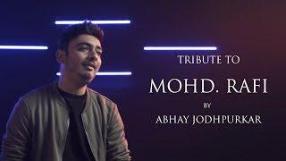 Tribute To Mohammedrafi Abhay Jodhpurkar Sandeep Thakur Latest Songs Mash Up