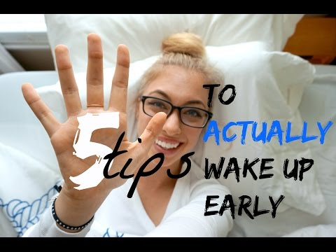 ☀️5 Tips To ACTUALLY Wake Up Early☀️