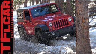 2015 Jeep Wrangler Rubicon Hard Rock: Snowy & Muddy Colorado Off-Road Review