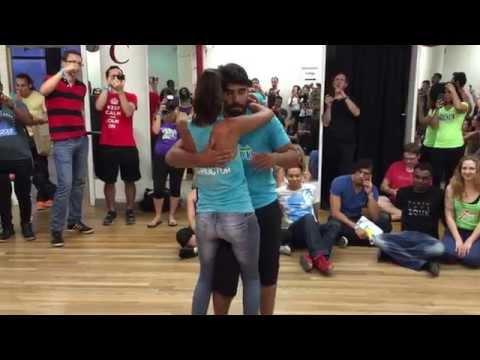 K-Yo Victor & Renata Rodrigues - Zouk Musicality Workshop at Fall for Zouk 2014