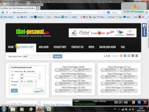 Cara Booking Tiket Pesawat