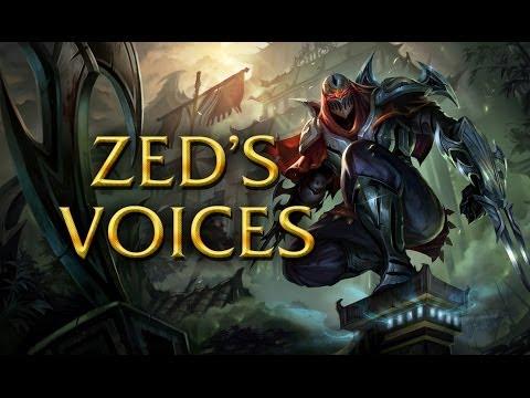 LoL Voices - Zed - All 16 languages