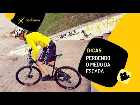 Como descer escadas de bike Pedaleria