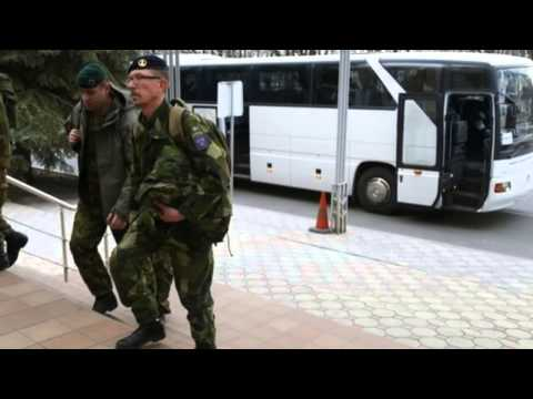 Ukraine Crisis: Second OSCE Team Freed In Donetsk