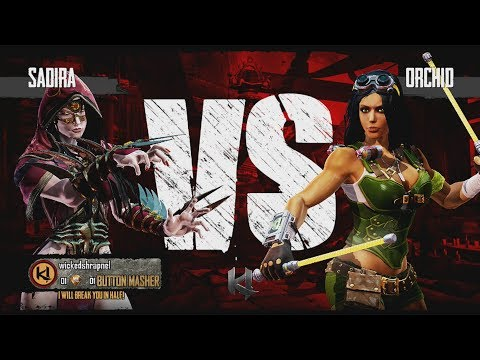 Killer Instinct Xbox One Sadira vs Orchid Kyle Difficulty Ultra Combo +Tits