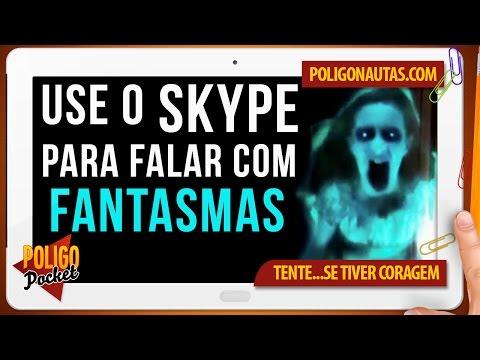Use o Skype Para Falar com Fantasmas | Lendas Sinistras
