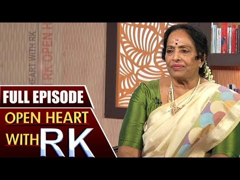 Senior Actress K.R Vijaya | Open Heart with RK | Full Episode | ABN Telugu
