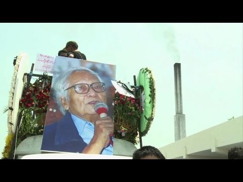 Myanmar pro-democracy hero Win Tin laid to rest