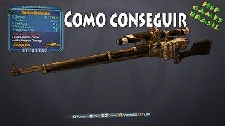 SKULLMASHER, Sniper Lendário! Como Conseguir - Borderlands 2