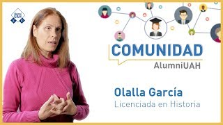 Comunidad AlumniUAH · Olalla García