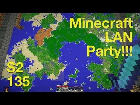Minecraft LAN Party! 2 Ep. 135 - Server Tour Part 5