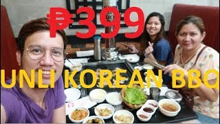 SAMGYUP KOREAN RESTAURANT | UNLI KOREAN BBQ | SAMGYUPSAL | FOOD + RESTAURANT REVIEW | BACOOR, CAVITE