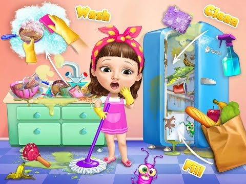 Sweet Baby Girl Cleanup 5 TutoTOONS Children / Baby / Android Gameplay Video