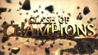 WWE Clash of Champions 2017 opening