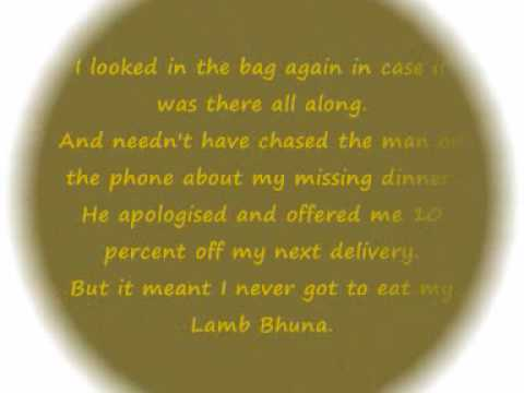 My Lamb Bhuna - Chris Moyles.