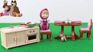 Maşa ve Kardeşi Toybox Açıyor Maşanın Küçük Köpeği Masha And Bear Çizgi Film