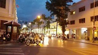 CSGT lịch sự xin đường cho đoàn VIP Trung Quốc đi từ Rex - Chinese VIP motorcade escorted