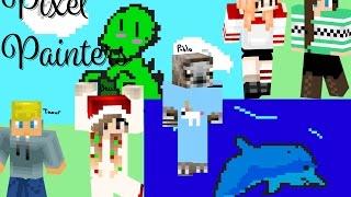 Download Lagu Minecraft | Pixel Painters (What's my intro) w/Friends Gratis STAFABAND