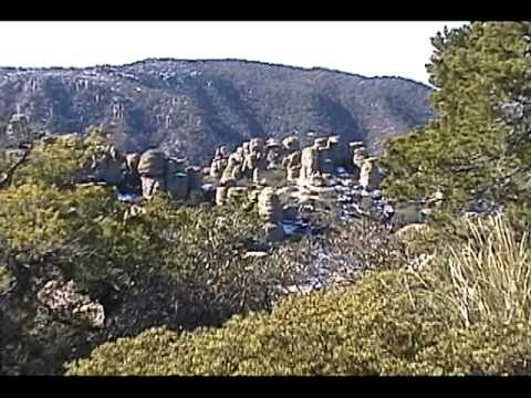 Beautiful rock formations in Chiricahua National Monument, AZ