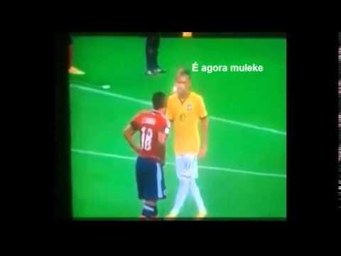 Suspeita Combinação de Zúñiga com Neymar
