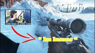 Shroud Insane Snipes ( Battlefield 5 Best & Funny Moments #5 )