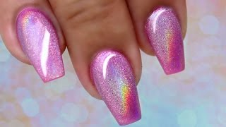 How to: Holographic nails 💖