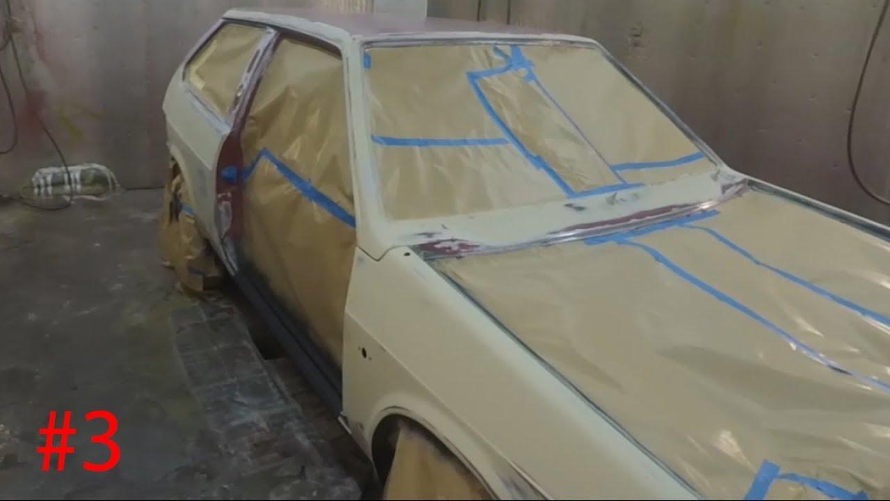 Как покрасить дверь ваз 2109