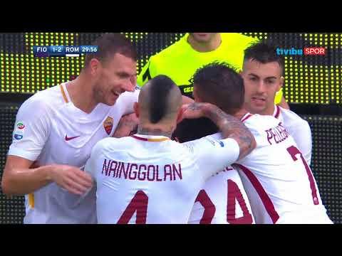 Serie A 12. Hafta | Fiorentina 2-4 Roma Maç Özeti