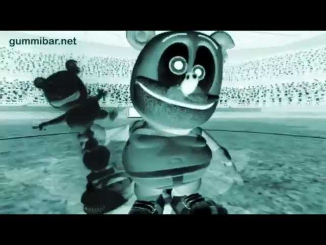Creepy Gummibär X-RAY Go For The Goal Gummy Bear Song