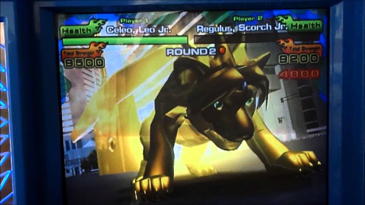 Animal Kaiser Evolution 4 - Celeo, Leo Jr. vs Regulus ...