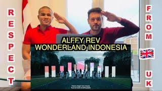 Download lagu WONDERLAND INDONESIA by Alffy Rev (ft. Novia Bachmid) - Reaksi Dari Inggris