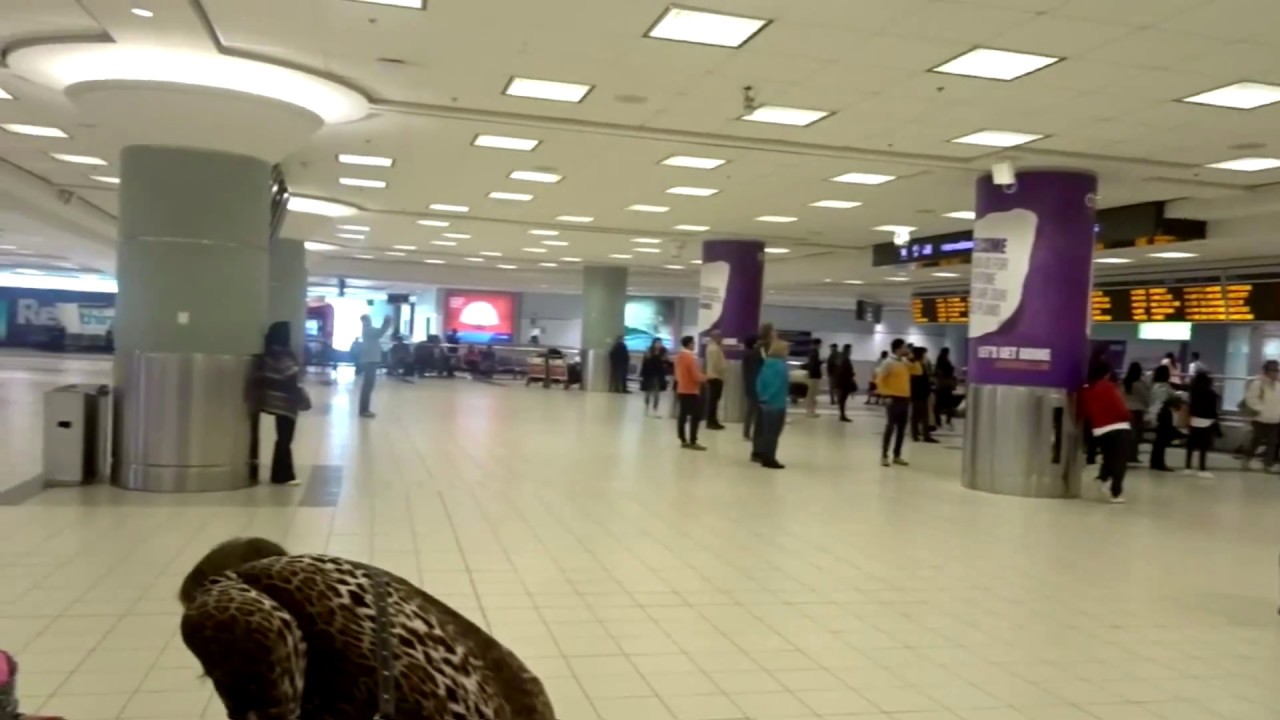 At Arrival Terminal 3 Pearson Airport Toronto Youtube