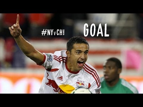 GOAL: Tim Cahill equalizes 2 mins after the opener! | NY Red Bulls vs Chicago Fire