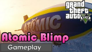 GTA V Atomic Blimp Action/Gameplay + Tragic End