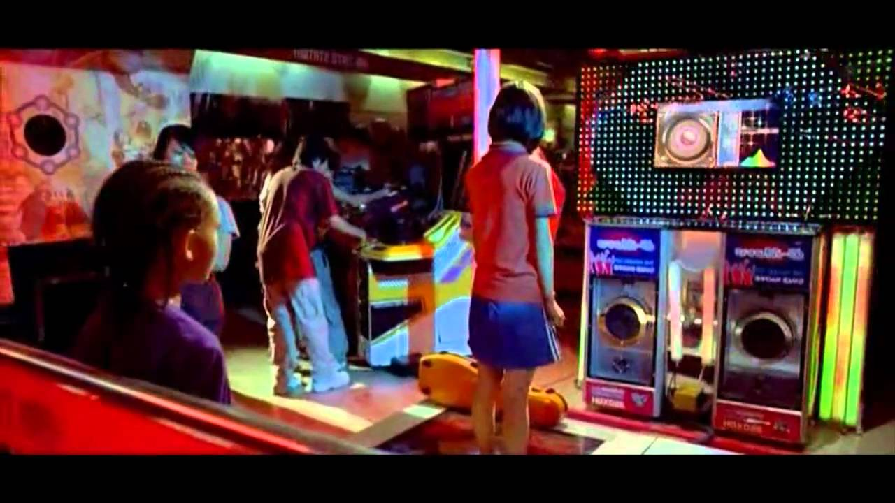 Karate Kid School Dance Scene The Karate Kid Dance Scene