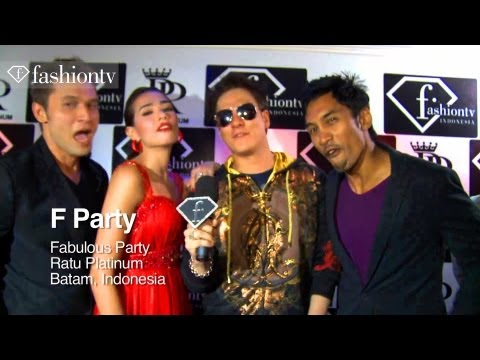 Ratu Platinum Party Ft Dj Moshi Fernandez, Beautiful Girls And F Vodka - Batam | Fashiontv - Ftv video