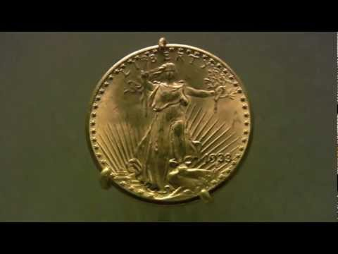 1933 Saint-Gaudens American Gold Double Eagle -- viewing the...