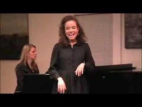 Sydney Morton singing Don Juan