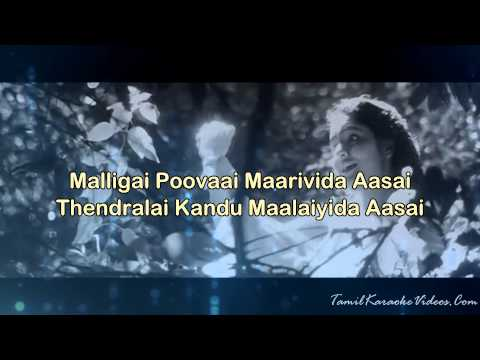 Chinna Chinna Aasai - Roja - Hq Tamil Karaoke By Law Entertainment video