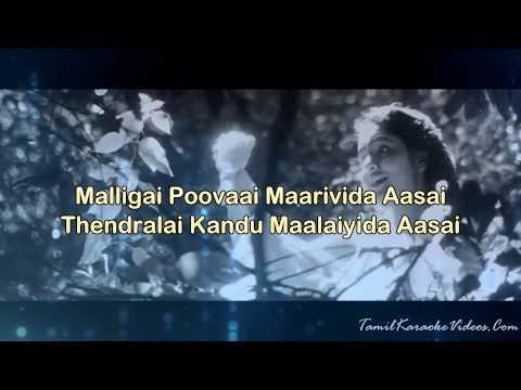 Chinna Chinna Aasai - Roja - HQ Tamil Karaoke by Law Entertainment