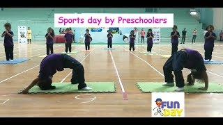 Sports day activities for preschools I Funday Sports I Inschool program