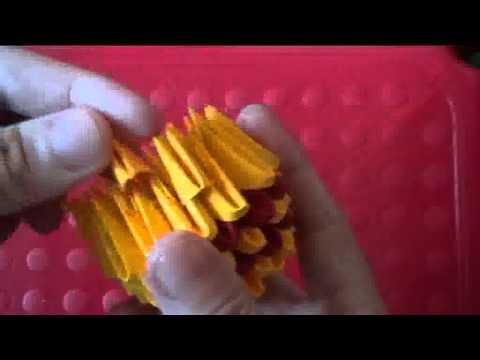 Пикачу модульное оригами