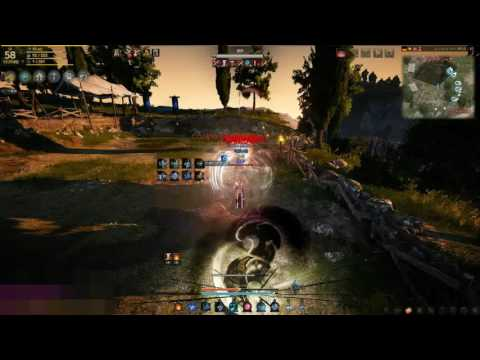 Black desert wizard VS ninja PVP #1