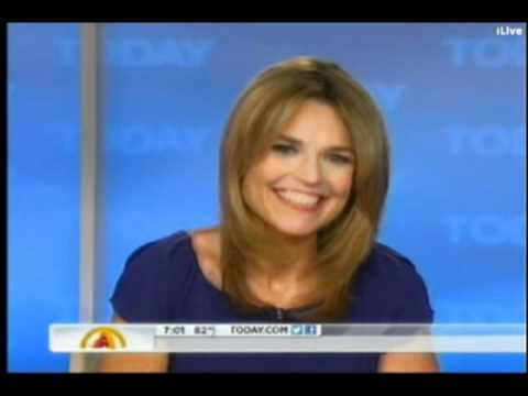Savannah Guthrie's first Today Show 2012